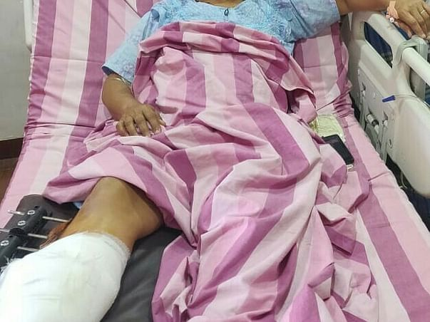 Help Mary  who met with a very serious accident