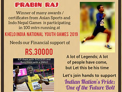 Help Prabin Participate in Khelo India National Youth Games