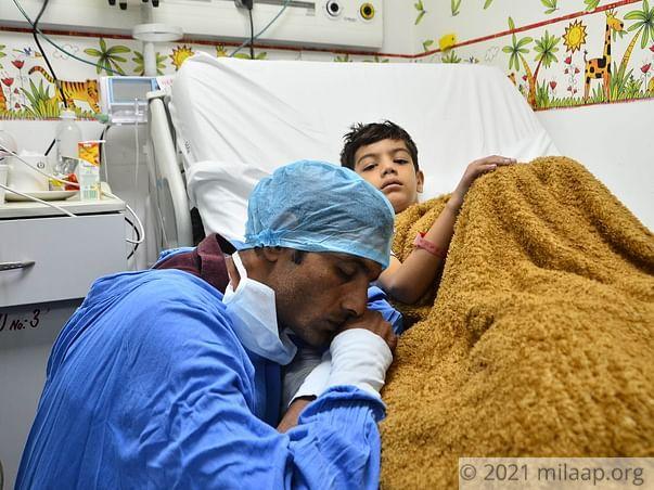 Ankush needs your help to undergo his surgery