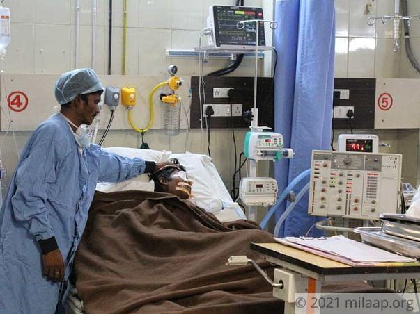 Ramchandra Viru needs your help to unergo his treatment