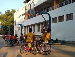 Help Wheelchair Basketball Players Reach the Championship Venue!