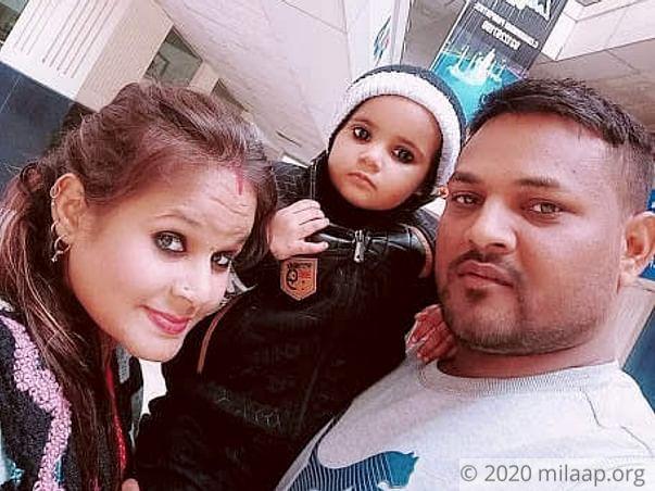 Baby Aaradhana needs your help to undergo her surgery