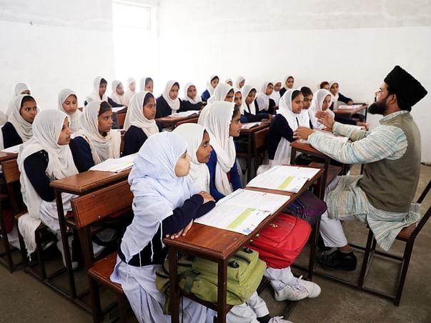School for Muslim Girls in Saroorpur village, UP