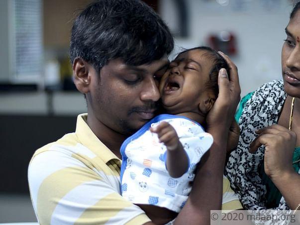 Help 5 months aged baby Sri divnesh undergo liver transplant