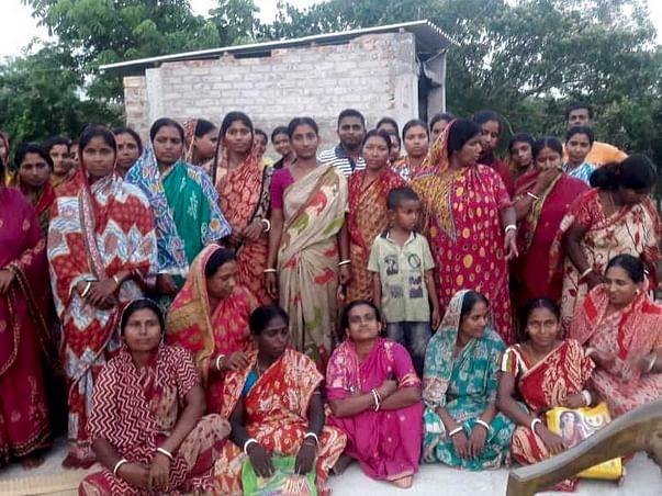 Sewing Machine for Tiger Victim Widows Women of proper Sundarban