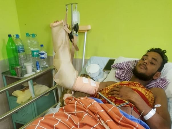Support Nishanth Shetty To Recover.