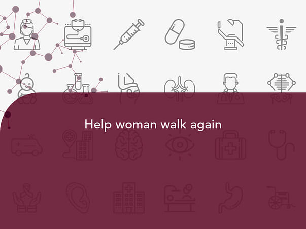 Help woman walk again