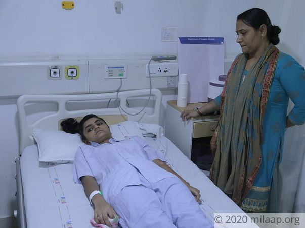 Ujala Karsanbhai Gohel needs your help to undergo her treatment