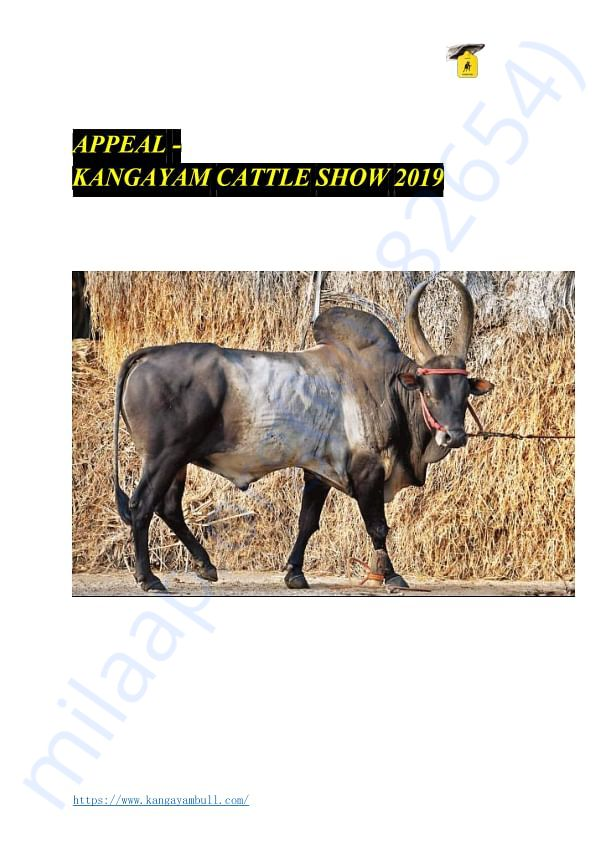 APPEAL - CATTLE SHOW 2019