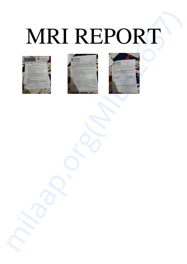 MRI reports