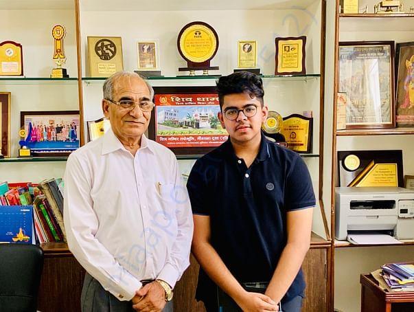 Meeting Mr. Premod Dada, Principal, School for the deaf children