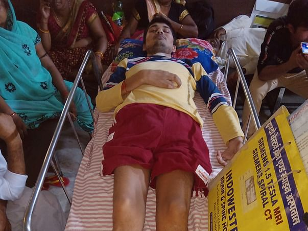 Support Jintendra's Treatment!