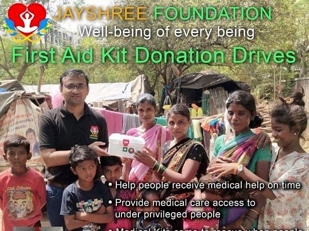 Sponsor medical kits for needy