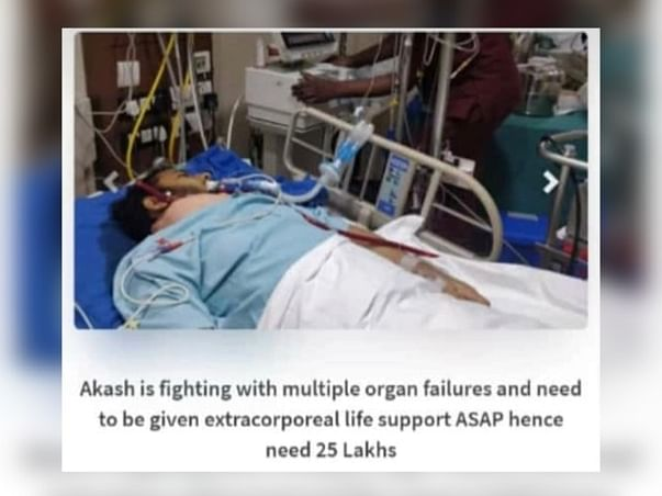 Help Akash fight multiple organ failure and save a life ! ASAP