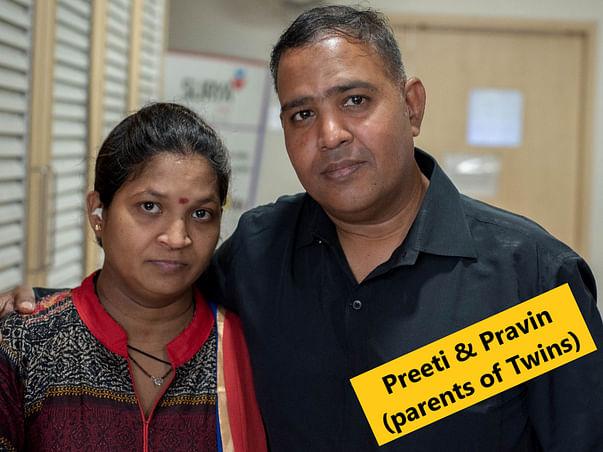 HELP PRAVIN SAVE HIS PREMATURE TWINS