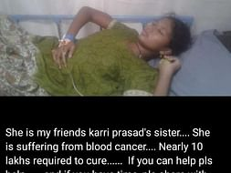 Help Revathi Fight With Cancer