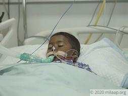 Tyahiya Eyadul Ali needs your help to undergo his treatment