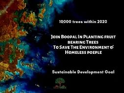 Join Boopal In Planting TreesTo Save Environment and Homeless people