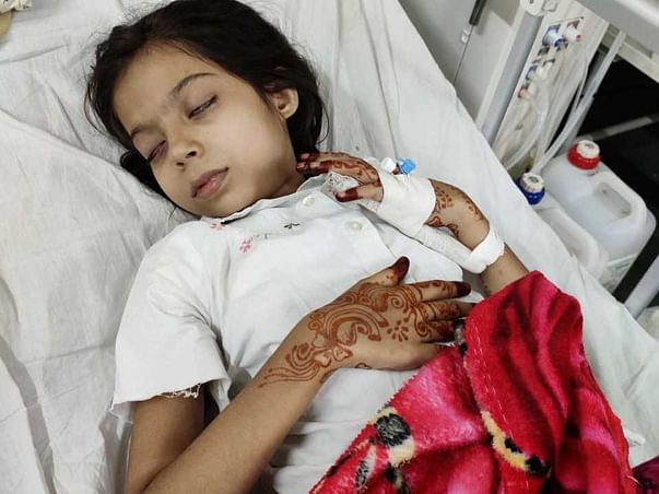 Help My Daughter Warisha khan suffering from Kidney Failure(Asjad khan
