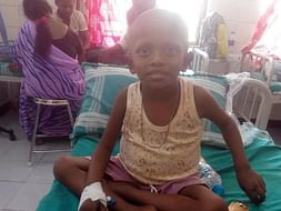Help 5-Year Old Ayan Fight Cancer