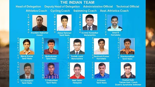 The Indian Team