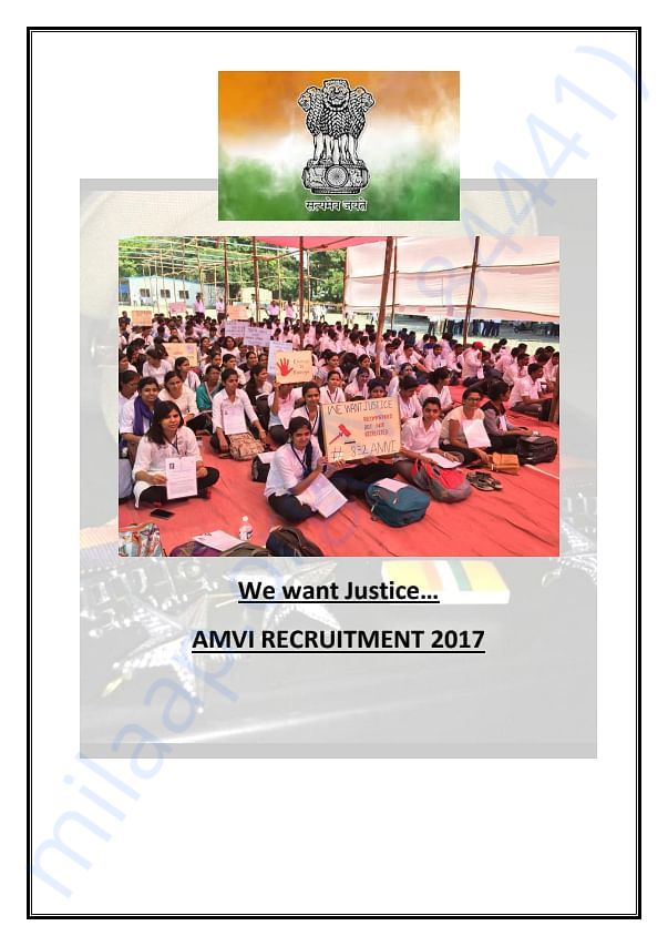 AMVI Recruitment 2017... Story in details