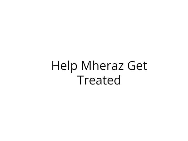 Help Mheraz Fight Ovarian Cancer