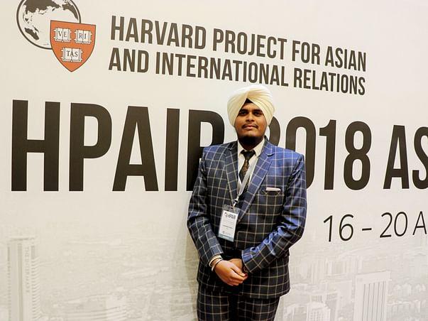 Help Mandeep attend NUS Global Citizen Conference