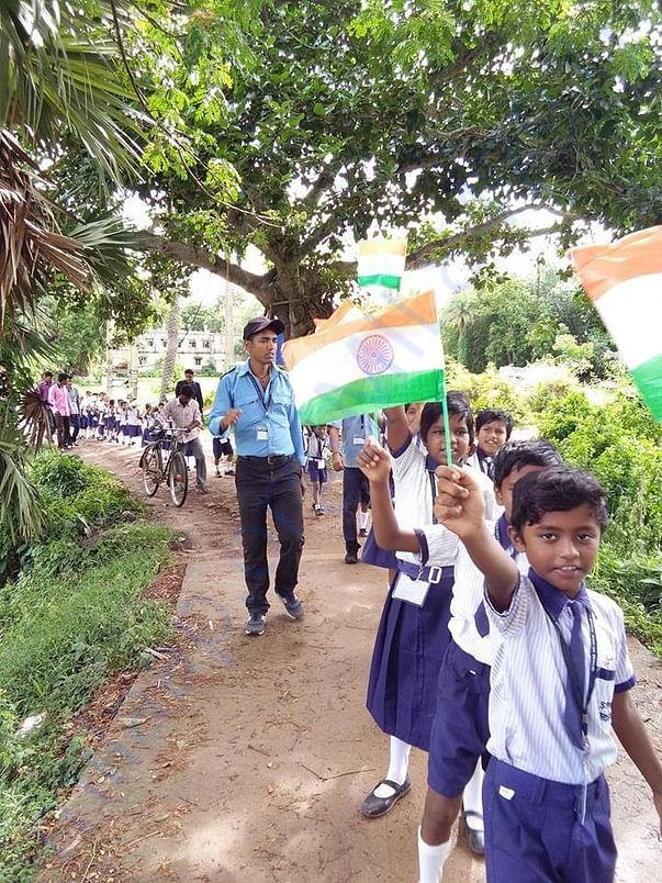 Our Students in Independence Day