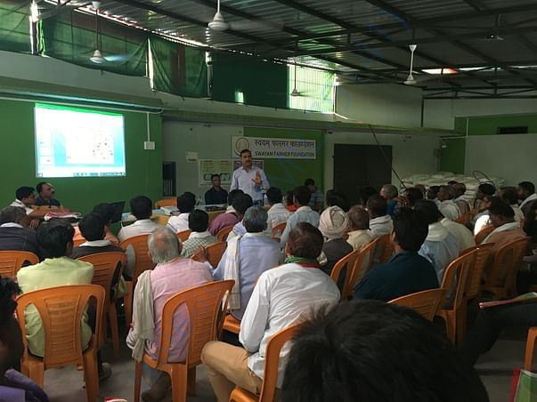 Farmer training on horticulture cultivation and drip irrigation