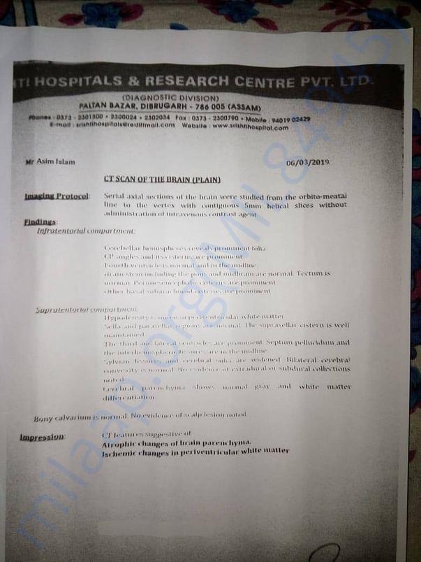 Hospital report