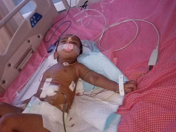 Support Baby Gagan Sri Fighting For His Life.