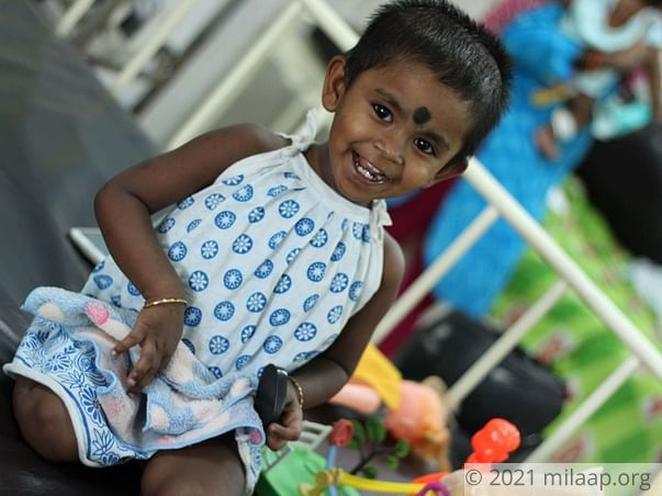 3-Year-Old With Cancer Needs Treatment, Her Father Begs For Help