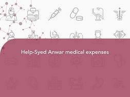 Help-Syed Anwar medical expenses