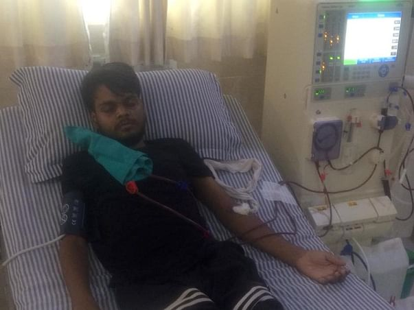 Help Sahil for Kidney Transplant