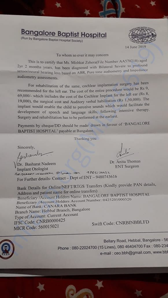 Medical reports and doctor's certificates