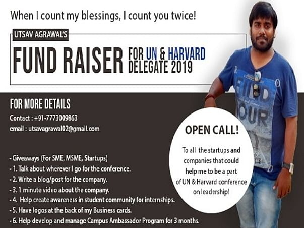 Help Utsav Represent India At HPAIR