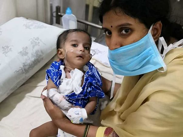 Help My Baby Undergo oesophagel with congenital heart disease