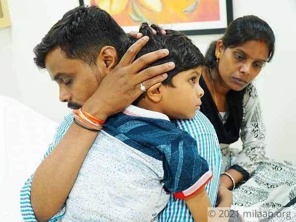 Mettu Dhanesh needs your help to undergo his tretament