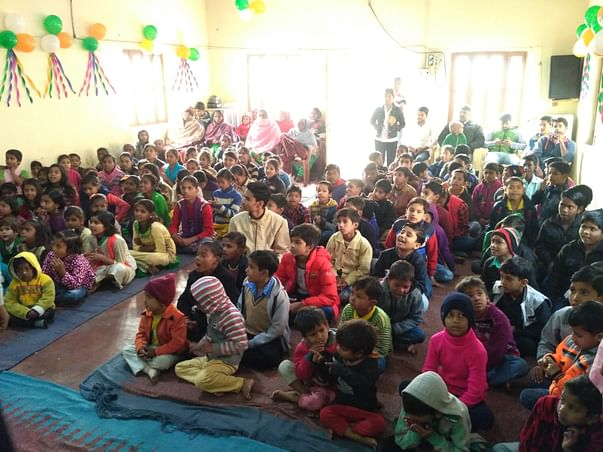 Help NICOG to buy a new projector to educate children and people