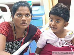 Aradhya Ganesh Kute needs your help to undergo her treatment