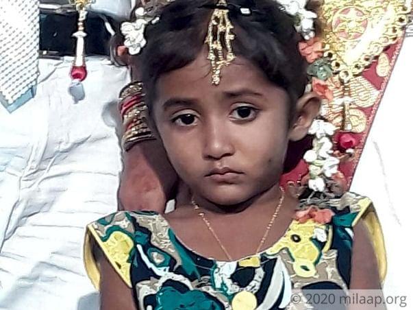 Help Baby Anusha Fight Acute Lymphoblastic Leukemia