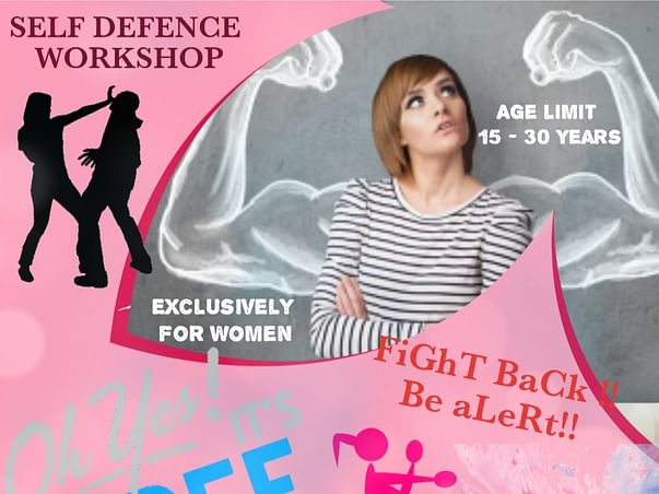 Join Us To Raise Awareness About Self Defence