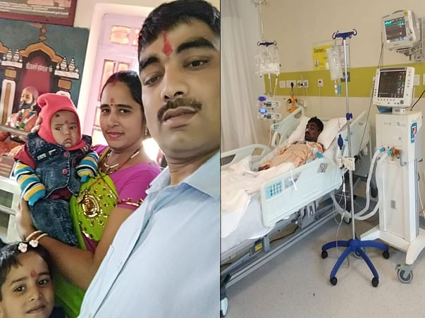 Father Of 6-month-old Baby Is Suffering In The Hospital