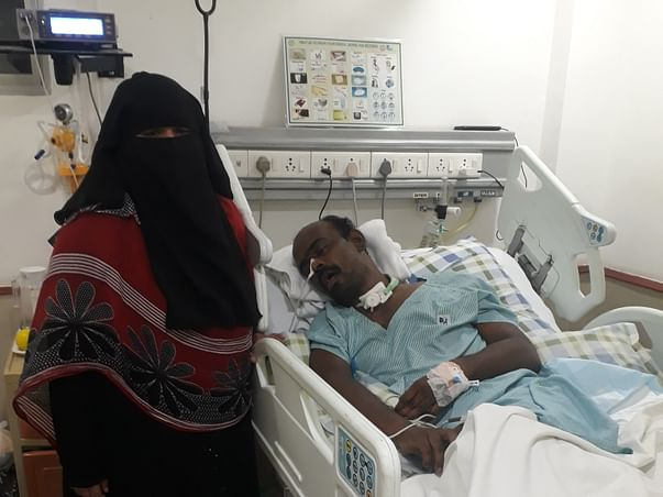 Help shaik mohamned mubashir Ahmed To Recover From His Accident.