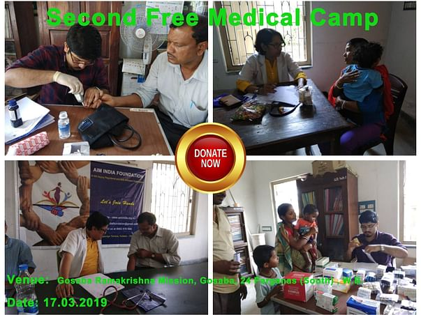 Donate for Free Medical Camps at Sundarbans with Free Medicines