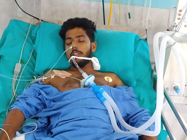 Help Sandipon From acute respiratory distress syndrome and cerebral ma