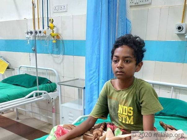 Help Amir Mandal Fight Acute Lymphoblastic Leukaemia