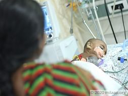 Help Keerthi Recover From Pneumonia
