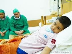 Mohammad Ali needs your help to undegro his treatment